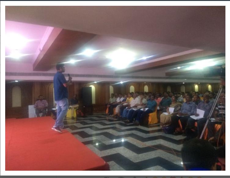 SantaBabaSeminar - Chennai March 24 – Santu Baaba Sirs Seminar